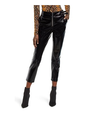 BLANK NYC patent faux leather pants