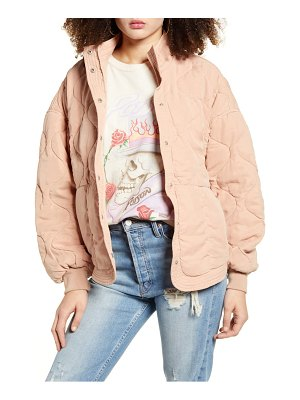 BLANK NYC quilted jacket