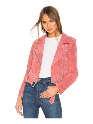 BLANK NYC suede moto