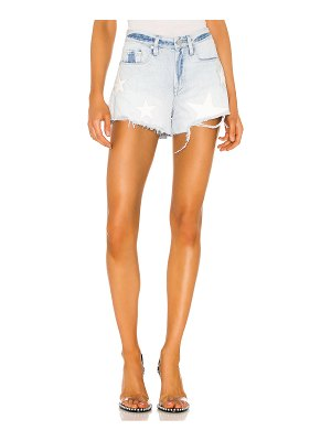 BLANK NYC the barrow vintage high rise denim short. - size 23 (also