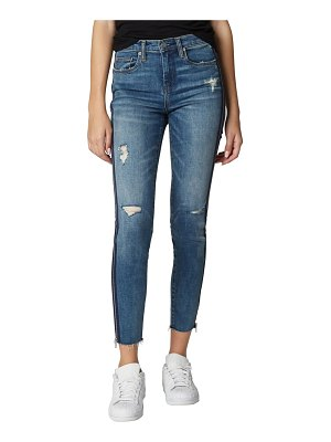 BLANK NYC the bond ripped side zip skinny jeans