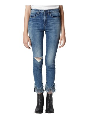 BLANK NYC the great jones frayed skinny jeans