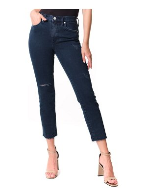 BLANK NYC the madison ripped straight leg jeans