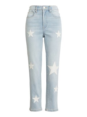 BLANK NYC the madison star patch crop jeans