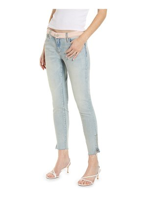 BLANK NYC the reade colorblock skinny jeans