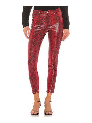 BLANK NYC vegan leather firehouse pant