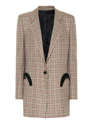BLAZÉ MILANO Everyday checked wool blazer