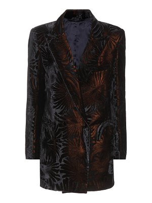 BLAZÉ MILANO Everyday flocked velvet blazer