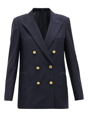 BLAZÉ MILANO first class double-breasted wool-blend blazer