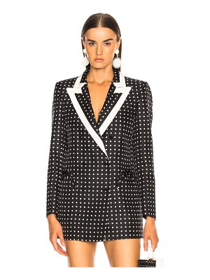 Blaze Milano Oh La La Polka Dot Everyday Double Breasted Blazer