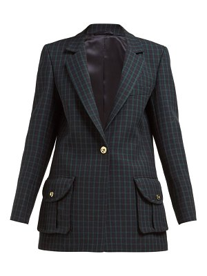 BLAZÉ MILANO timeless checked wool tweed blazer