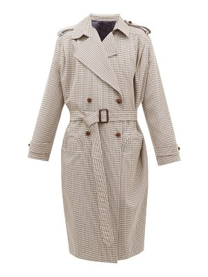 BLAZÉ MILANO wait houndstooth wool-blend coat