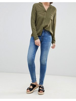 Blend She Bright paneled skinny jeans