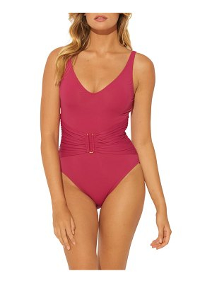 Bleu By Rod Beattie all about u bar detail one-piece swimsuit