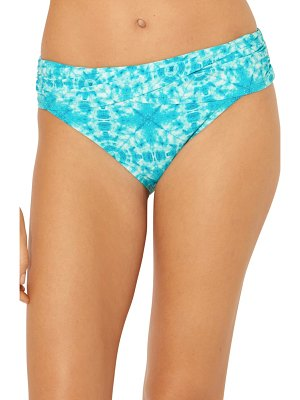 Bleu By Rod Beattie make waves sarong hipster bikini bottoms