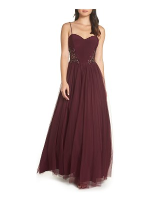 Blondie Nites sweetheart chiffon gown
