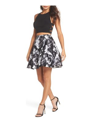 Blondie Nites two-piece party dress