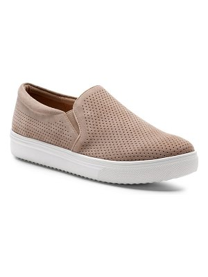 Blondo gallert perforated waterproof platform sneaker