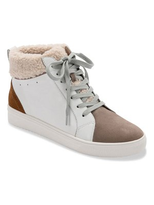 Blondo gulia waterproof faux fur mid sneaker