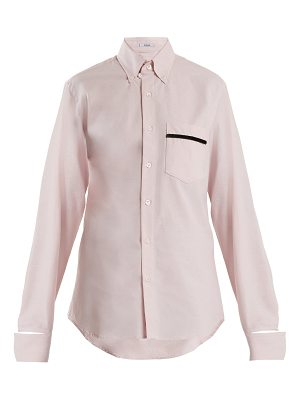 BLOUSE Novus patch-pocket cotton shirt