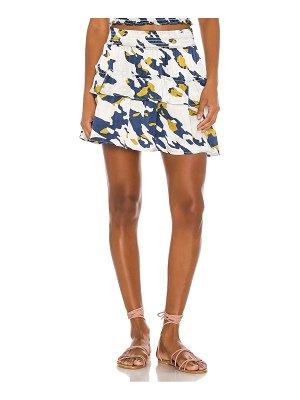 Blue Life hailee tiered mini skirt