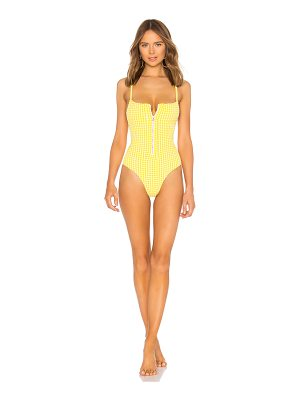 Blue Life Zipped Up One Piece