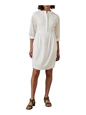 BODEN cotton broderie anglaise dress
