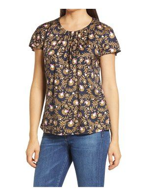 BODEN florence short sleeve top