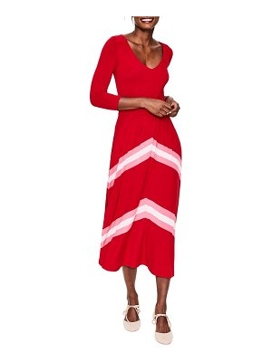 BODEN juliet jersey midi dress