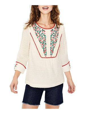 BODEN kelsey embroidered blouse