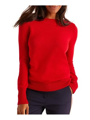 BODEN peggy button cuff sweater