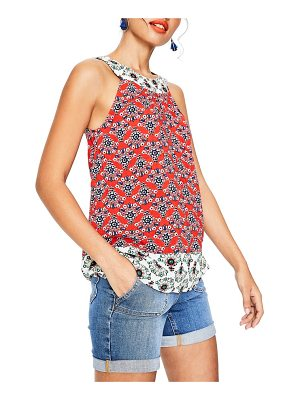 BODEN print mix swing top