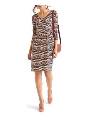 BODEN romilly long sleeve floral jersey dress