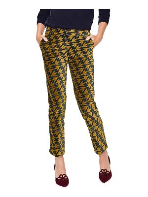 BODEN slim stretch cotton velvet pants