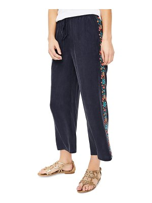 BODEN tamara embroidered lounge pants