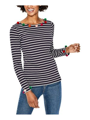 BODEN the fun breton stripe top
