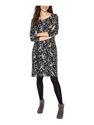 BODEN winifred pattern cotton blend dress