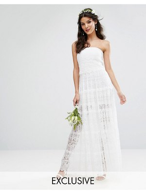 Body Frock Bodyfrock Bridal Tiered Maxi Dress