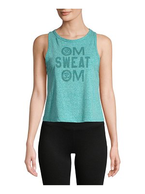 Body Rags Clothing Co Om Sweat Om Tank Top