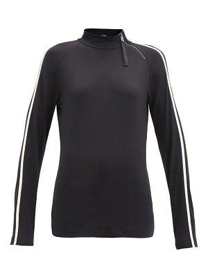 Bogner airin side-zip long-sleeved thermal top