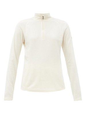 Bogner madita zipped high-neck fleece jacket