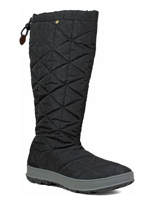 Bogs snowday tall waterproof quilted snow boot