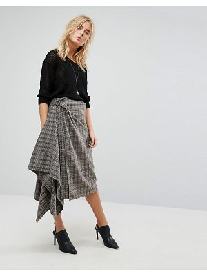 Bolongaro Trevor Checked Skirt