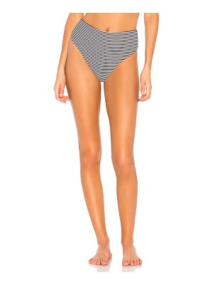 Bond Eye Brigitte High Waist Rib Brief Bikini Bottom