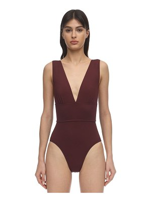 Bondi Born Victoria v neck one piece swimsuit