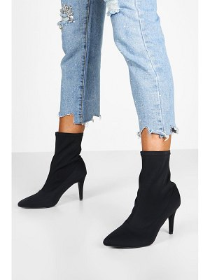 Boohoo Basic Stiletto Heel Sock Boots