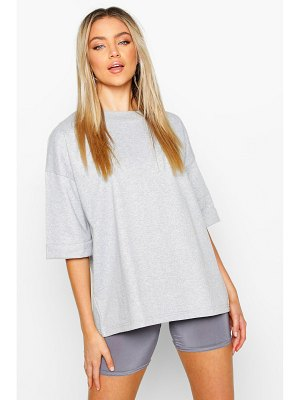 Boohoo Basic Turn Cuff Boxy Sweat