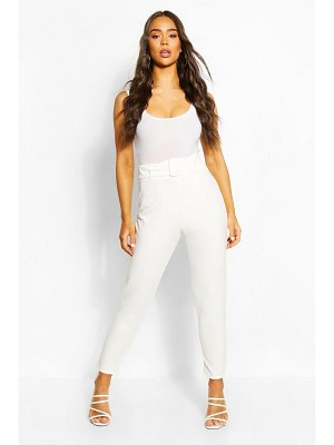 Boohoo Belted Super Skinny Stretch Pants