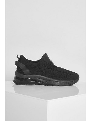 Boohoo Bubble Sole Knitted Sports Sneakers