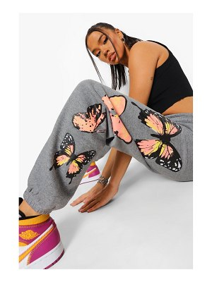 Boohoo Butterfly Print Jogger
